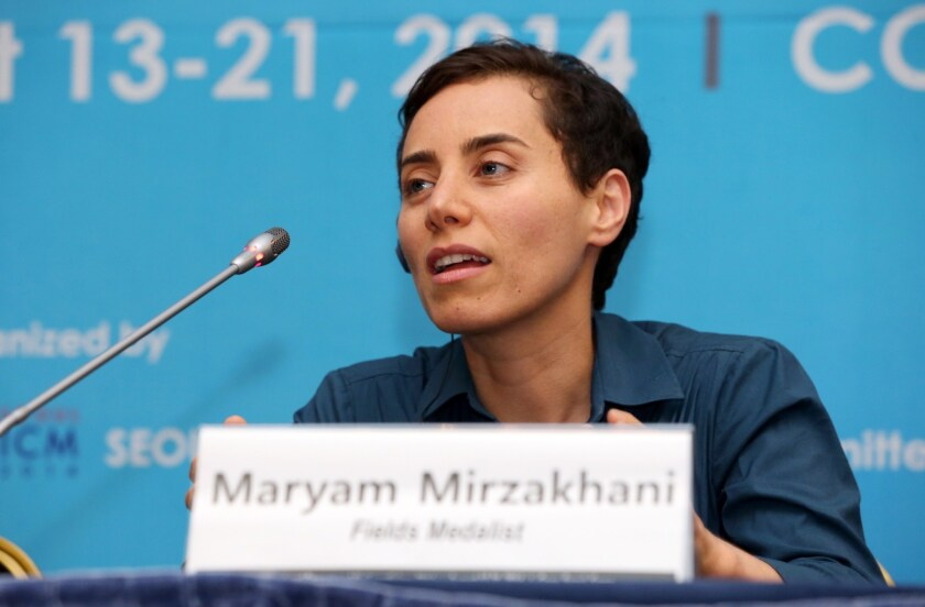 Maryam Mirzakhani became the first woman to win a Fields Medal.
