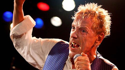 The Sex Pistols' Johnny Rotten (a.k.a. John Lydon) leads the revival at the Roxy. The band, which also includes guitarist Steve Jones, drummer Paul Cook and bassist Glen Matlock, played a private club show for fans Thursday. It was the group's first appearance at the club and their first club show in Los Angeles.