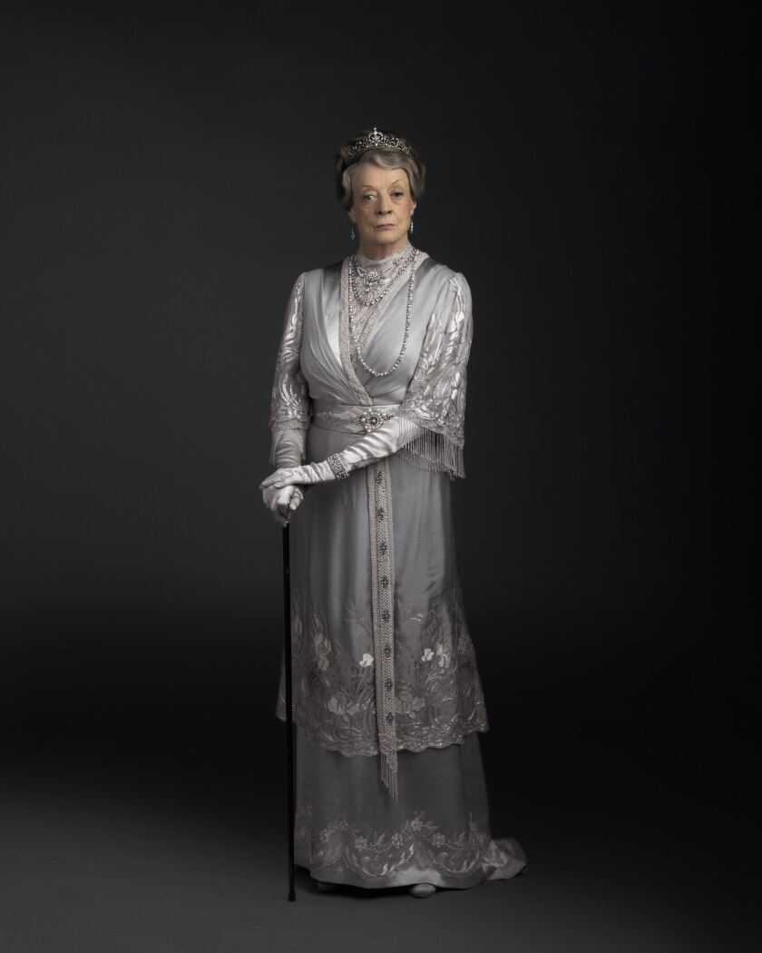 Dame Maggie Smith stars as Violet Crawley in 'Downton Abbey'