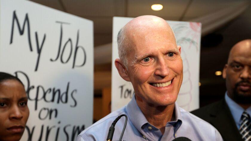 Florida Gov. Rick Scott: Two-time loser at federal court in his effort to drug-test welfare applicants