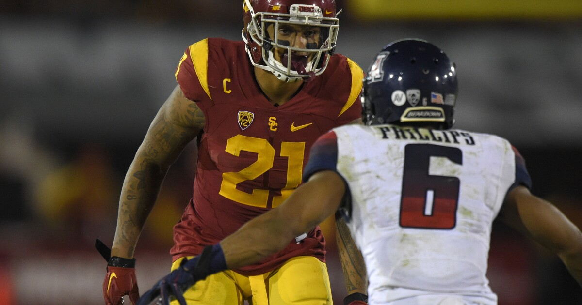 Su'a Cravens seeks to end USC career with victory and interception in Holiday Bowl