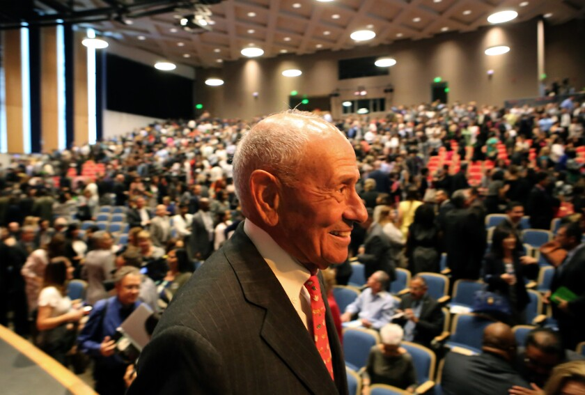 L.A. schools Supt. Ramon C. Cortines has pledged he will retire by the end of 2015. He will join L.A. Times columnist Steve Lopez for a discussion about his legacy and what is next for local schools on Dec. 9.