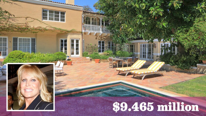 Socialite Suzanne Saperstein has bought a Spanish Colonial-style home in Beverly Hills for $9.465 million.