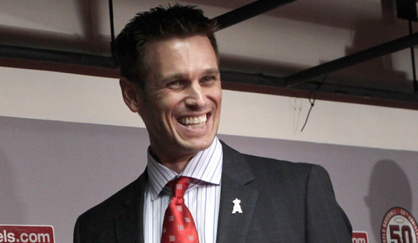 Angels General Manager Jerry Dipoto doesn't appear to be interested in acquiring new talent before the trade deadline.