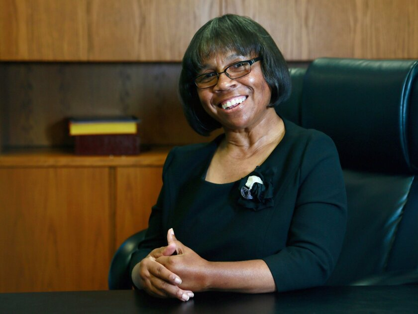 Joi Lin Blake begins her new job as Palomar Community College District superintendent and college president Monday.