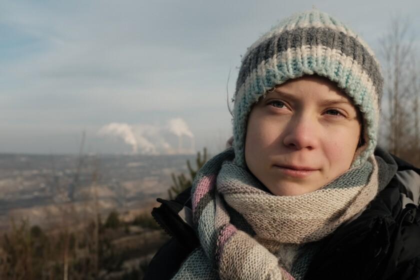"Greta Thunberg, protagonista de la docuserie ""Greta Thunberg: A Year to Change the World""."