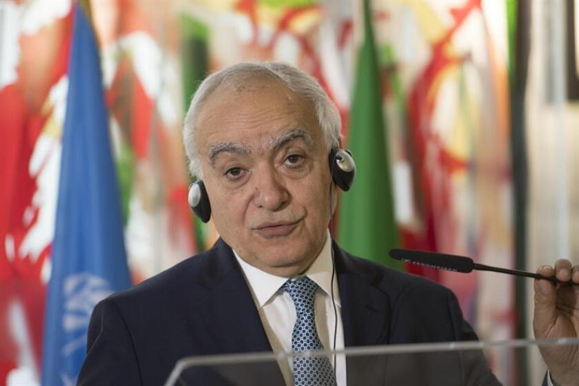 La ONU va a incrementar próximamente su presencia en Libia, tanto en Trípoli como en el resto del país, con el fin de apoyar la transición, según anunció hoy el enviado de la organización, Ghassan Salamé. EFE/EPA/ARCHIVO