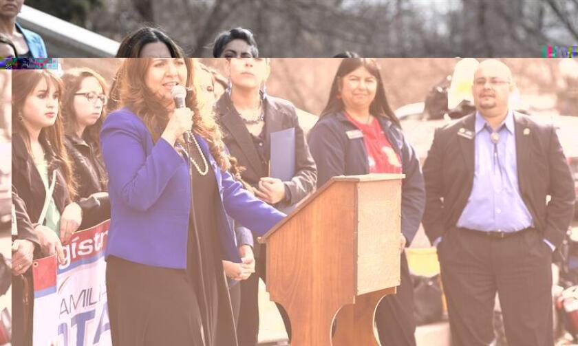 La Asamblea Legislativa de Colorado comenzó hoy un nuevo periodo de sesiones en el que por primera vez una mujer hispana, Cristanta Durán, está al frente de la Cámara de Representantes y además hay un número récord de legisladores afroamericanos. EFE/ARCHIVO