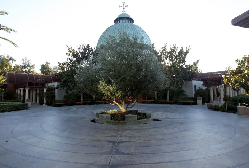 The labyrinth at Saint Gregory the Great Catholic Church in Scripps Ranch.