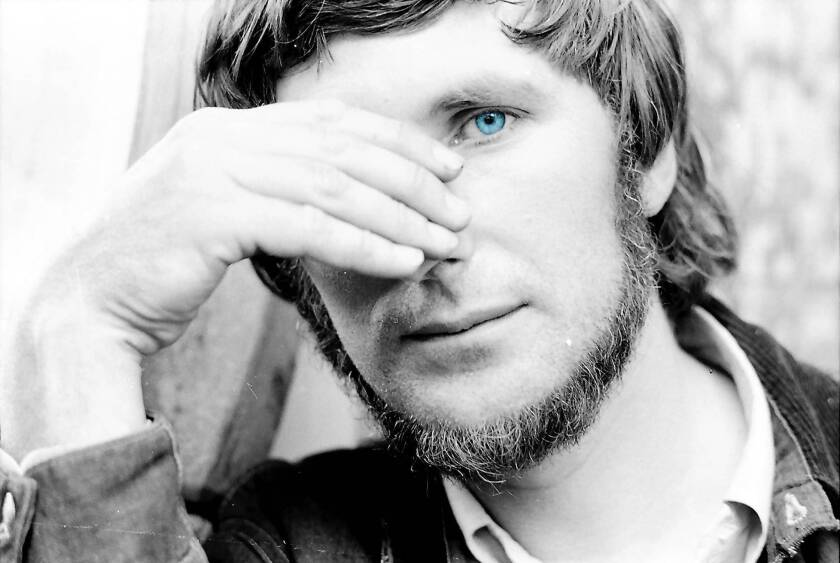 """Tomi Ungerer in the early 1960s, as seen in the documentary """"Far Out Isn't Far Enough: The Tomi Ungerer Story."""""""