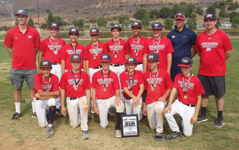 The Del Mar Powerhouse 13U team are champs in the XDS Battle of the Bats tournament.