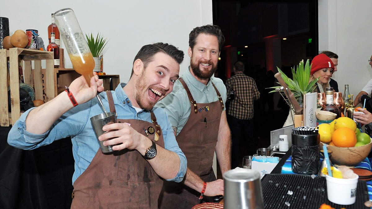 San Diego's top bartenders showcased their finest concoctions at Bartender Shakedown, an event held as part of Bartenders Weekend, at Liberty Station on Saturday, March 2, 2019.