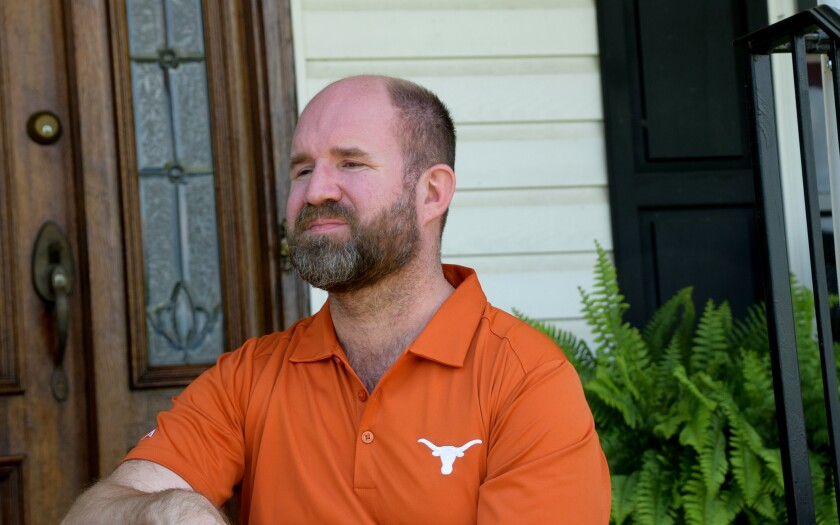 Mitchell Spearman, senior director of principal gifts for the University of Texas at Austin.