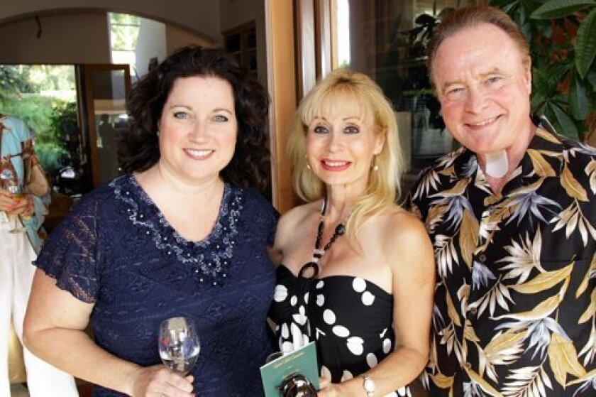 Kathy Karpe, Laura and Fred Applegate