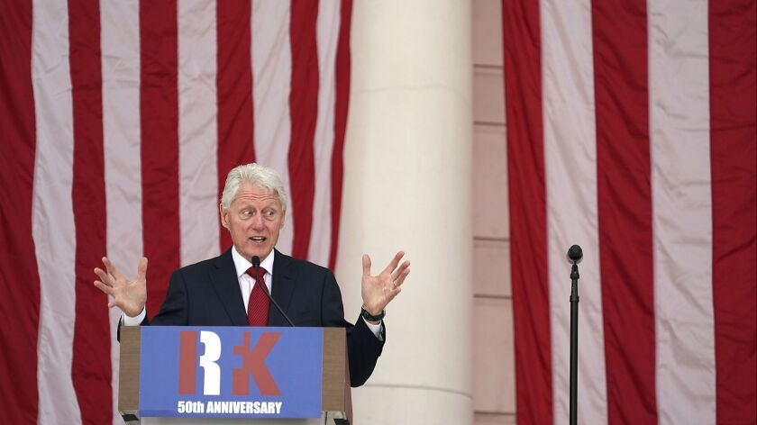 Kennedy Family, Bill Clinton Mark 50th Anniversary Of Robert Kennedy's Death
