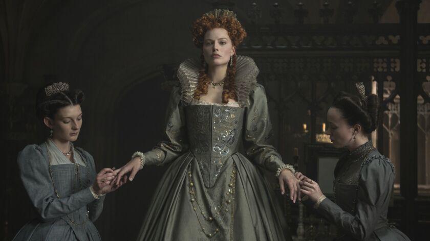 4113_D001_00325_R_CROP(l-r) Grace Molony stars as Dorothy Stafford, Margot Robbie stars as Queen Eli