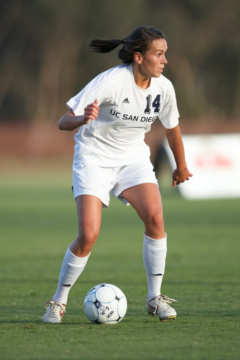 Playing for the UCSD soccer team as a graduate student, it didn't take Annette Ilg long to score.