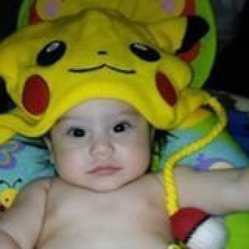 Autoridades de Baja California están investigando el caso de la muerte de Elliot Villalobos de 7 meses de edad. Foto, cortesía de Joany Aguirre.