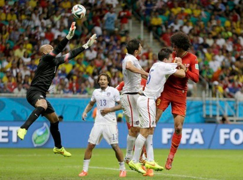 USA vs Belgium at World Cup