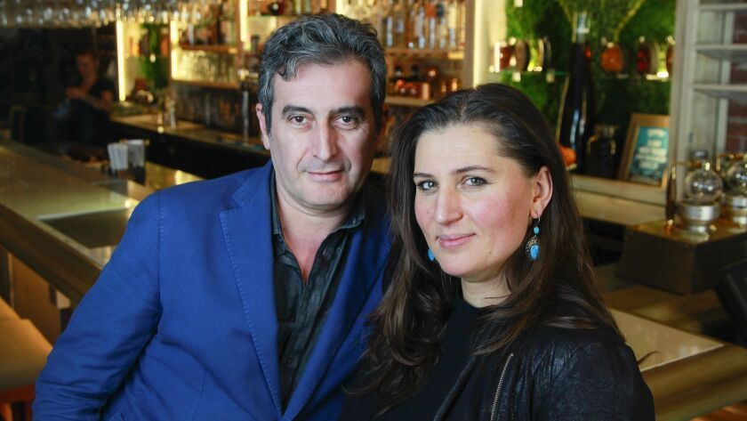 SAN DIEGO, CA February 7th, 2019 | Chef Leyla and her husband Emran Javadov of Cafe 21 restaurant, p