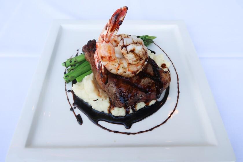 Celebrate Father's Day with steak and shrimp at Primavera Ristorante in Coronado.