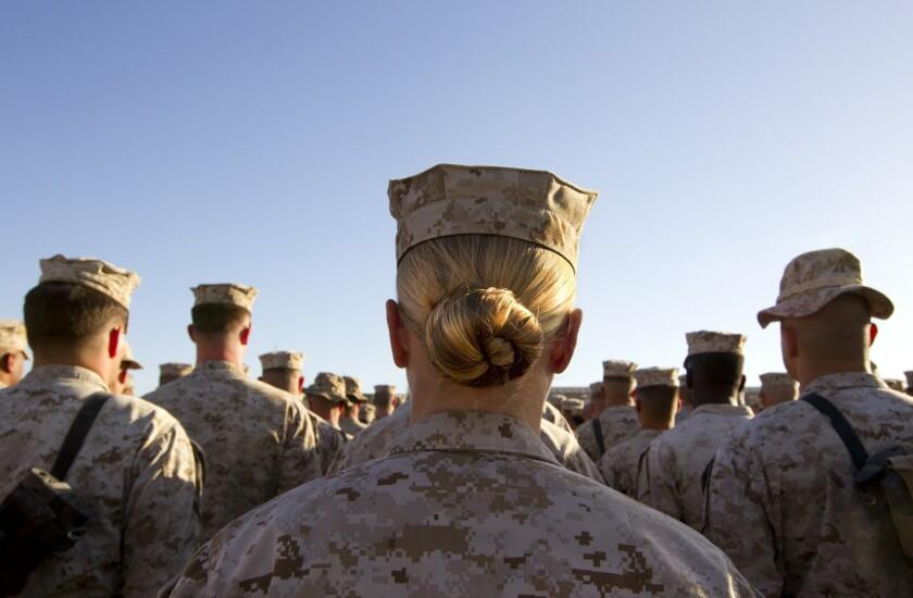 Women in combat roles in the U.S. military