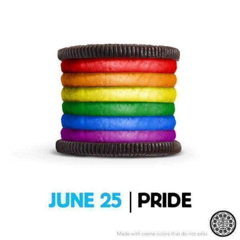 Gay Pride rainbow Oreo sparks 20,000 Facebook comments, debate