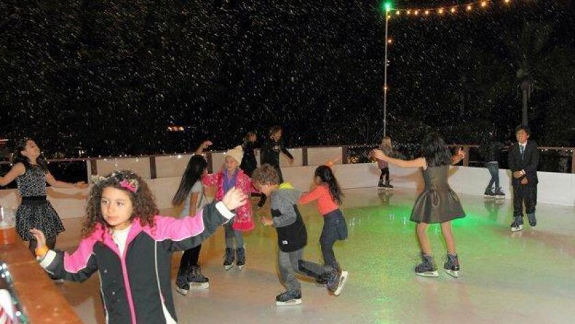 The Inn at Rancho Santa Fe will once again host a holiday ice rink, open from Dec. 2 to Jan. 8.