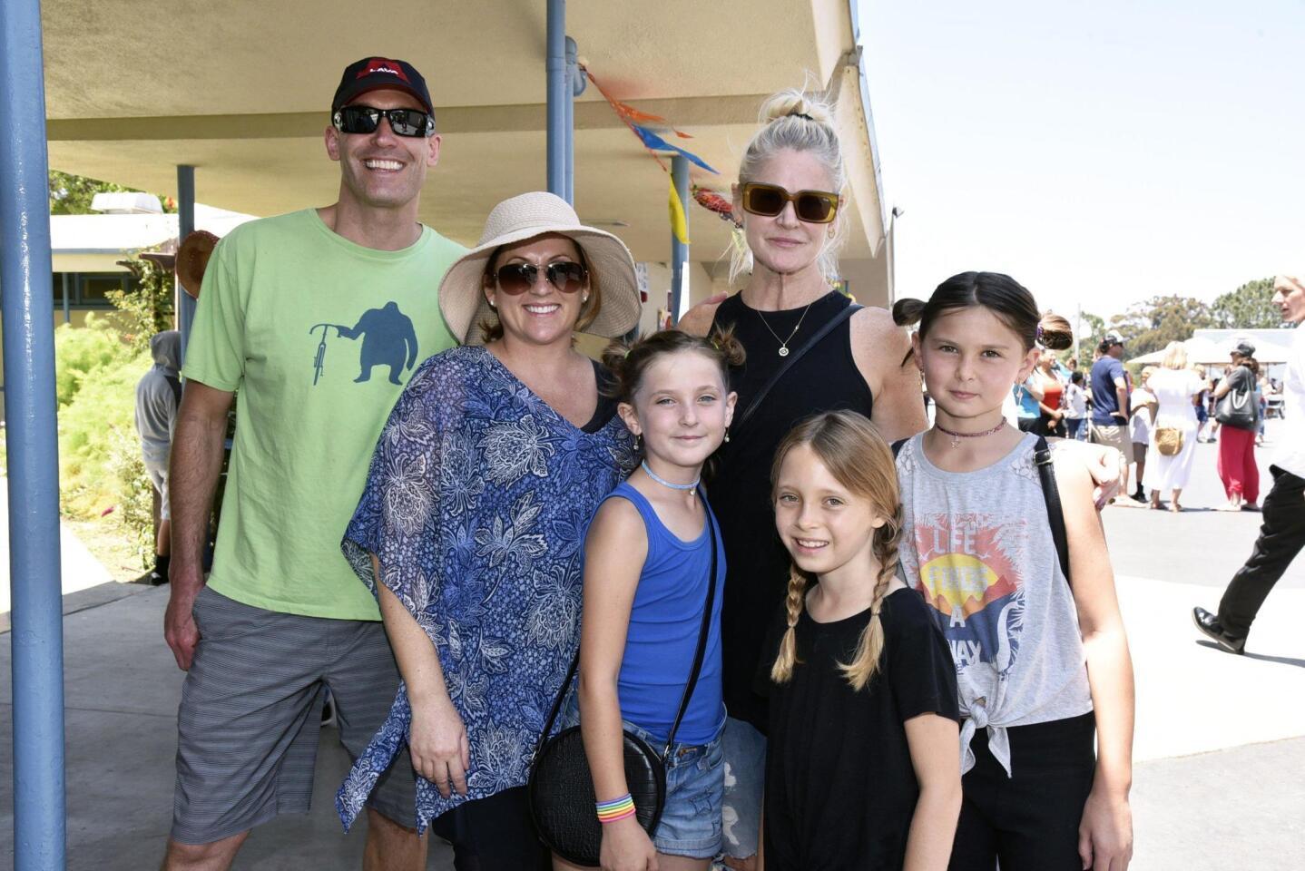 John and Laurel Marinovich, Meredith Hanna Wheelock with Michaela, Harper and Mackenzie