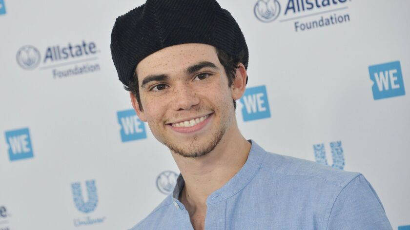 Disney Channel star Cameron Boyce dead at 20 from 'ongoing medical condition'