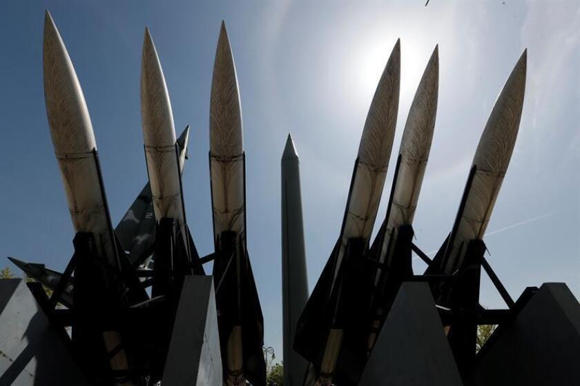 El Departamento de Defensa considera que los misiles son la parte más visible de su estrategia, mientras que sus 14 submarinos de ese tipo suponen una amenaza sigilosa con gran capacidad de supervivencia. EFE/EPA/Archivo