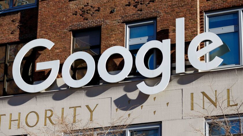 Google Reportedly to Hire 12,000 workers in New York, USA - 08 Nov 2018
