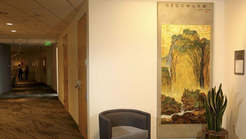 """Hong tu Zhang's """"Fan Kuan - Van Gogh #2"""" from 2002."""