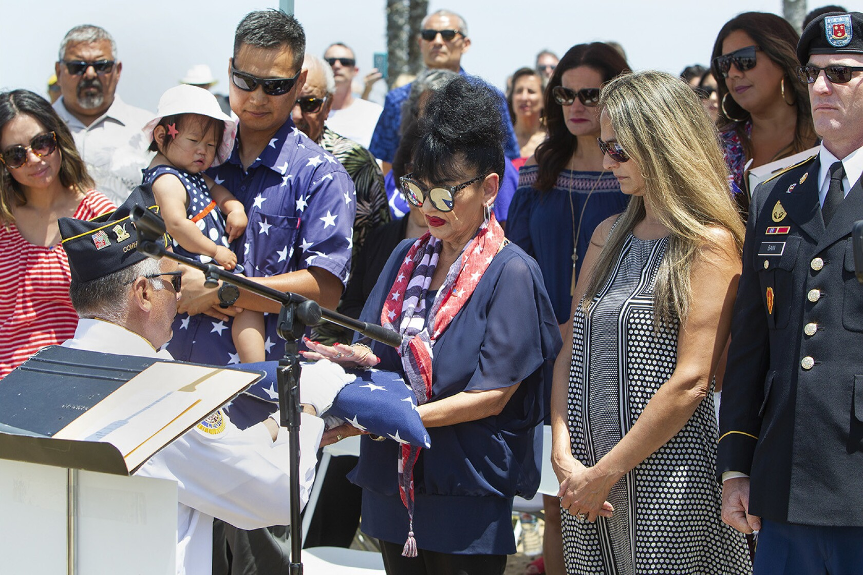 Community honors late veteran who created Patriot Point in