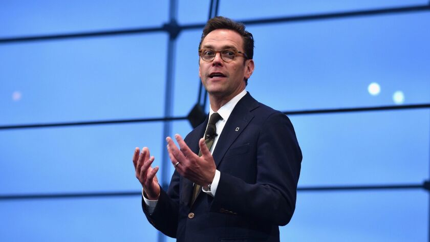 21st Century Fox Chief Executive James Murdoch in April in New York.