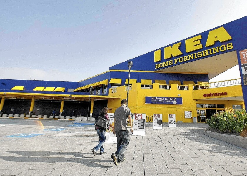 Ikea, the Swedish home furnishings retailer, plans to lift its minimum hourly wage at 38 mega-stores across the nation by 17% to $10.76 starting in January.