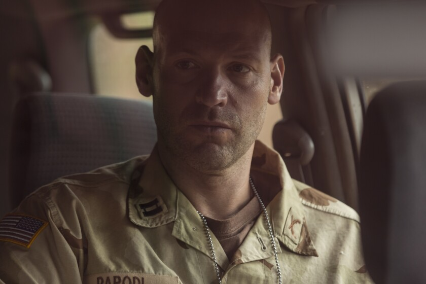"Corey Stoll in ""Baghdad Central."""