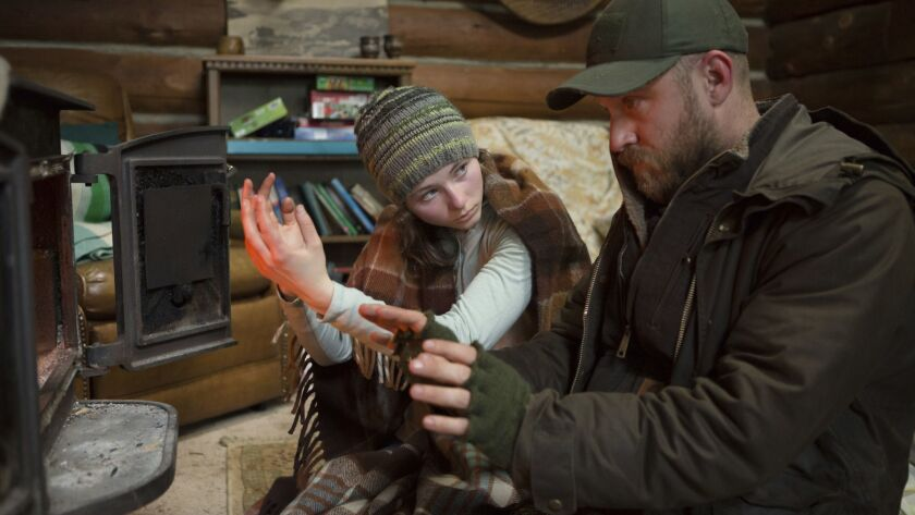 This image released by Bleecker Street shows Thomasin Harcourt McKenzie, left, and Ben Foster in a s