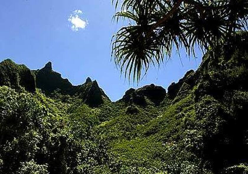 The Road To Kauai Is An Ever Inviting Garden Path Los Angeles Times