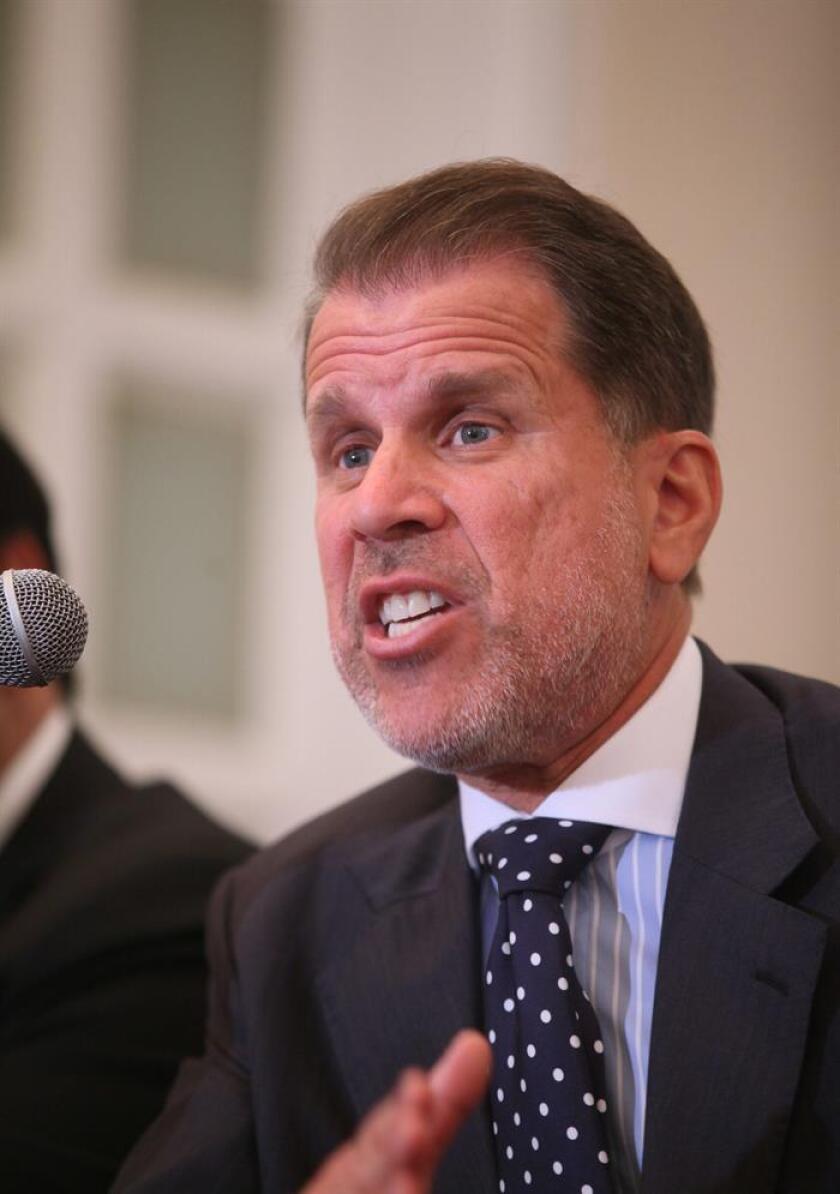 Joel Andropy, abogado defensor del ex gobernador mexicano Tomás Yárrington. EFE/Archivo