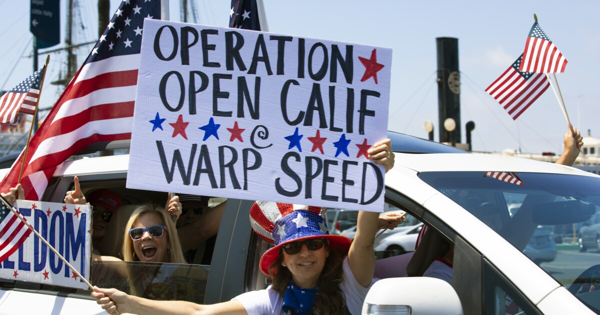 County to consider plan that asks governor to let San Diego speed up reopening