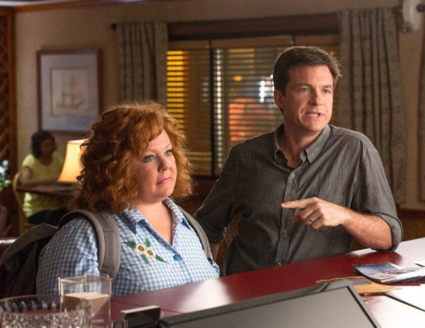 """""""Identity Thief,"""" starring Melissa McCarthy and Jason Bateman, is expected to top the box office this weekend"""