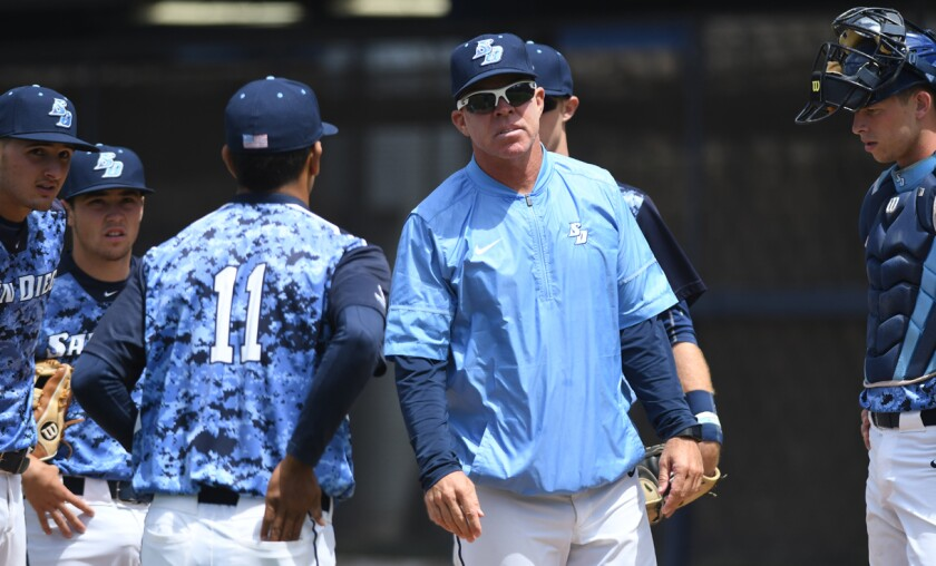 Rich Hill was selected West Coast Conference Coach of the Year four times at USD.