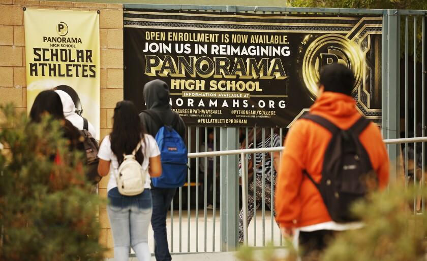 Panorama High School