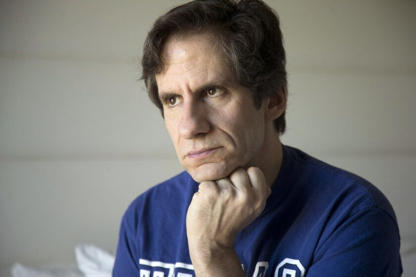 """FILE - In this Jan. 16, 2014 file photo, pianist Seth Rudetsky poses for photos in Fort Lauderdale, Fla. Rudetsky wrote the spoof musical """"Disaster!"""" headed for a March 8 opening on Broadway. The show is based on 1970s disaster movies with a score consisting of that era's pop, rock and disco songs."""