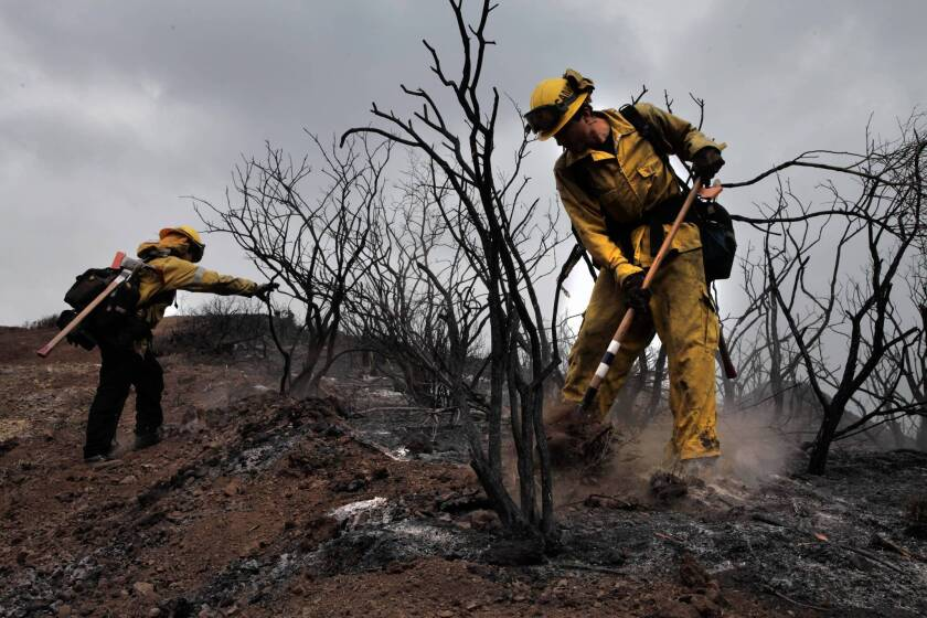 Wildfire risk runs high, but budget cuts mean fewer firefighters