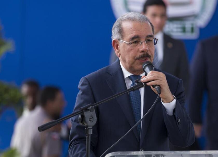El presidente de República Dominicana, Danilo Medina. EFE/Archivo