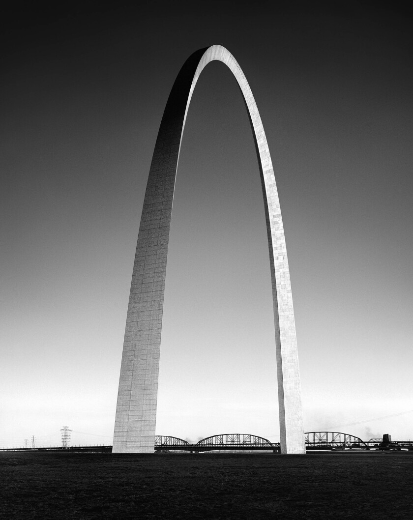 Gateway Arch of the Jefferson National Expansion Memorial, St. Louis | Architect: Eero Saarinen