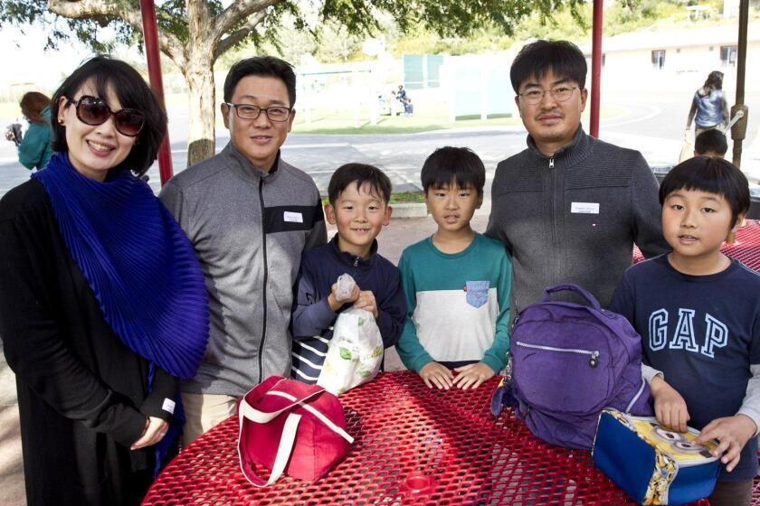 The Yoon, Han, and Park families