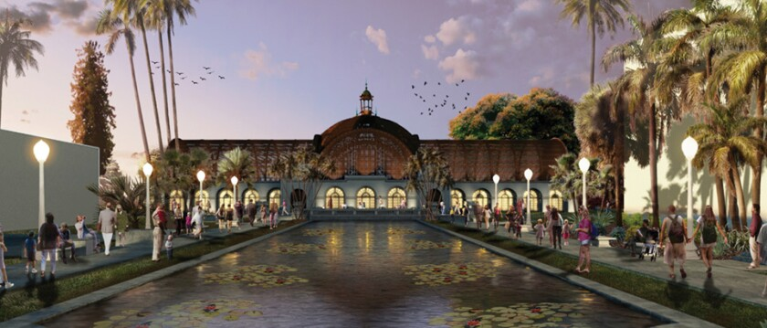 Botanical Building Restoration_Evening Rendering Lights RNT.jpg